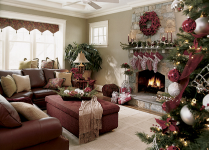 home for the holidays decorating den interiors