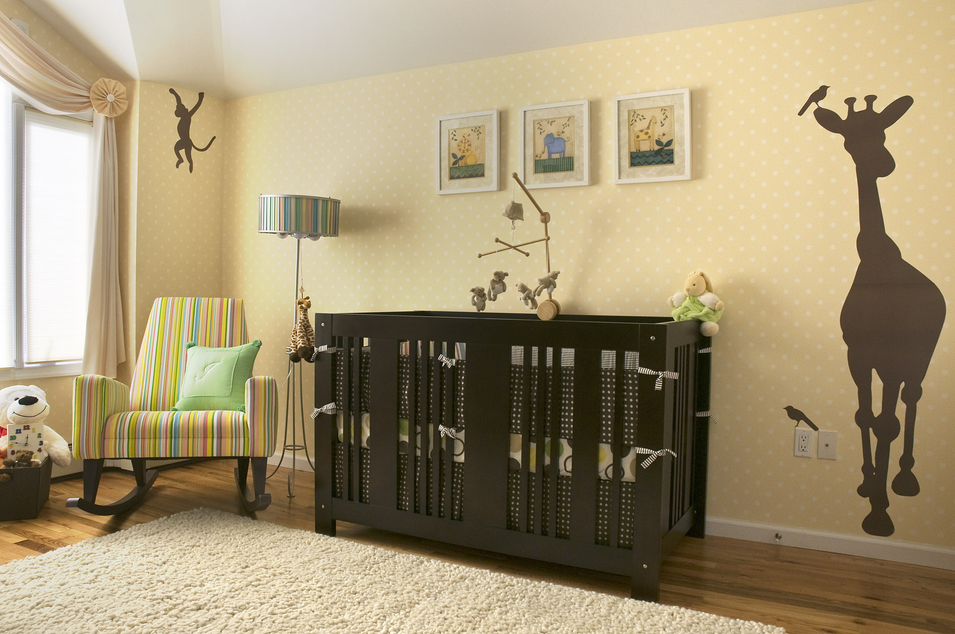 Lullaby Land - Nursery Decorating Ideas - Decorating Den Interiors