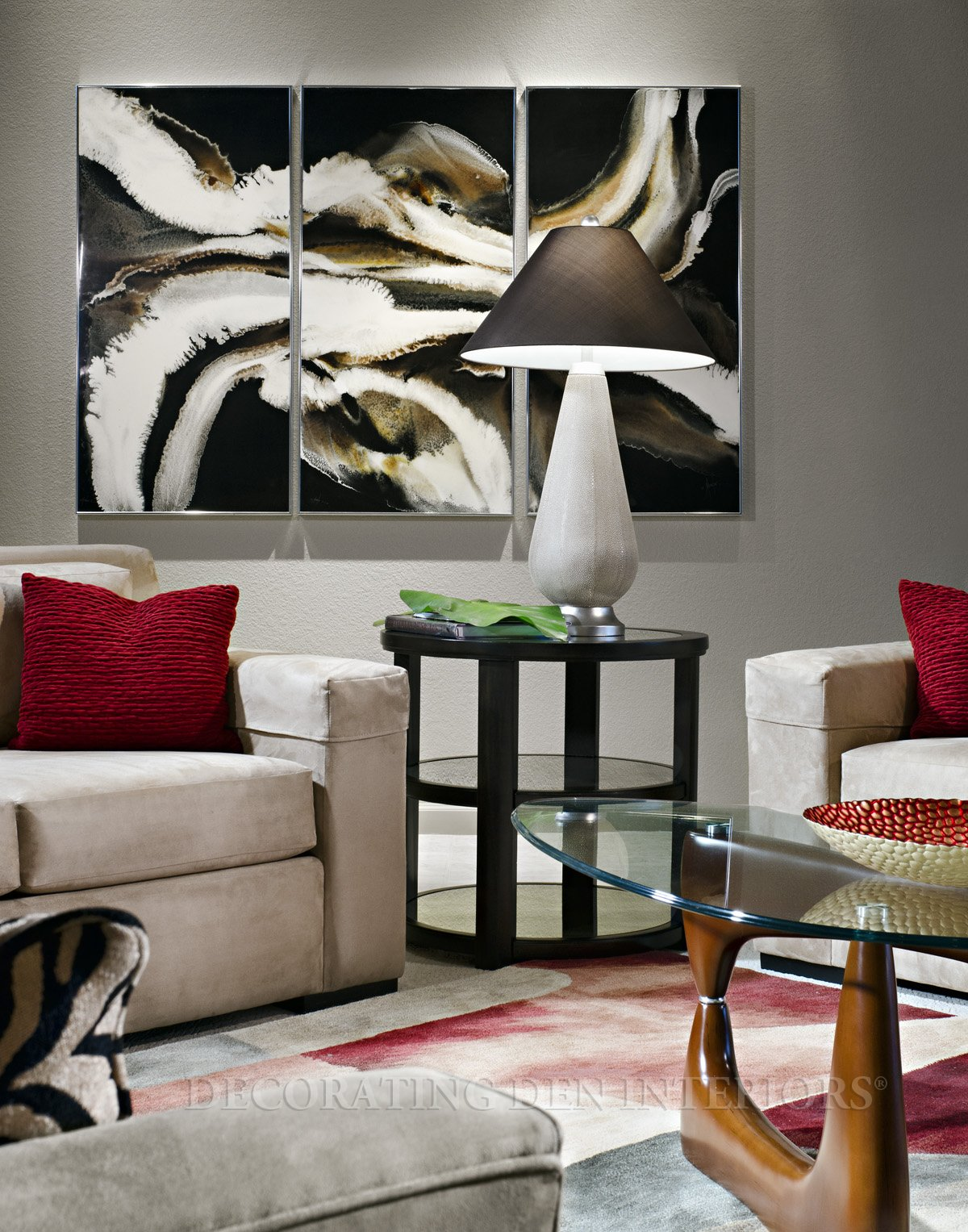 Awesome Artwork Decorating Den Interiors